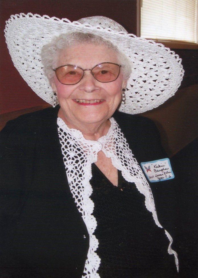 Kathryn LaVaun Gertrude (Kertzman) Baugher