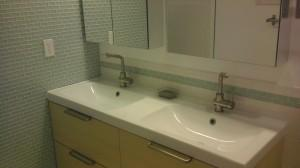 Bathroom Remodel After - Sinke