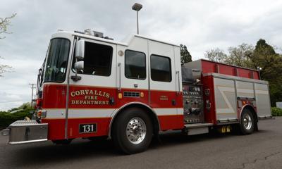 STOCK Corvallis Fire Department truck -2