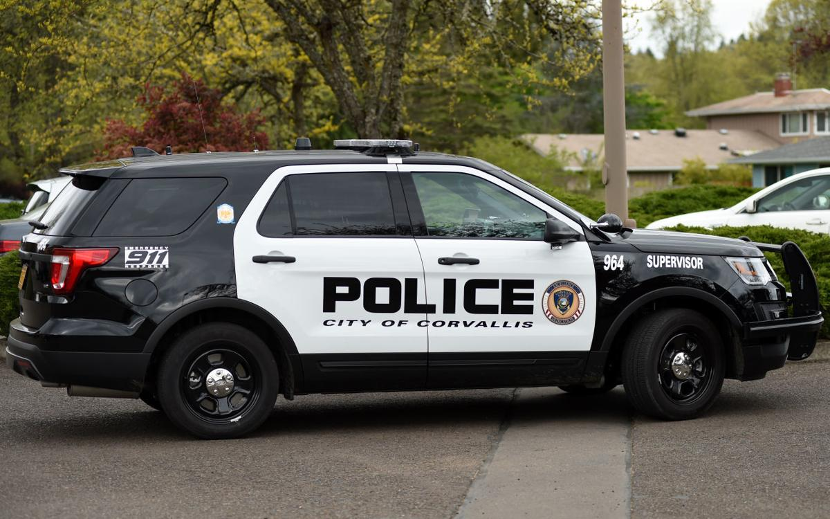 STOCK PIX Corvallis Police Department car