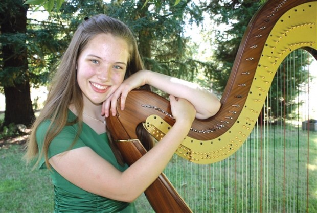 Harpists 'bring comfort and healing'