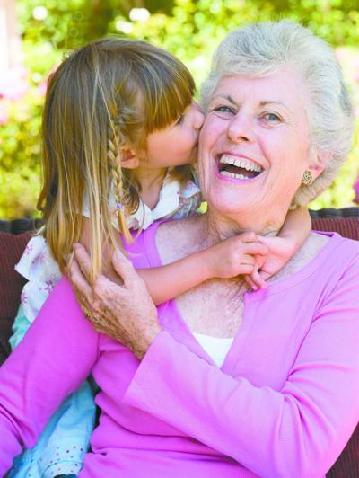 Audiologist photo: Grandma
