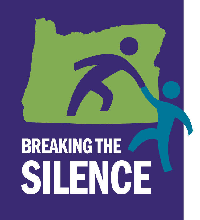 Breaking the Silence logo (w/back)