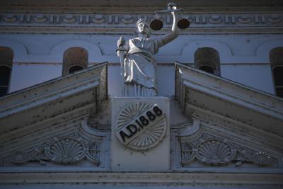 Benton County Courthouse STOCK