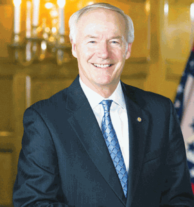 By Governor Asa Hutchinson