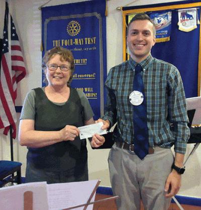 Rotary donates to musuem | Local News | dequeenbee com