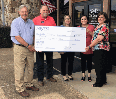 Arvest Bank donates to Chalice Cupboard | Local News