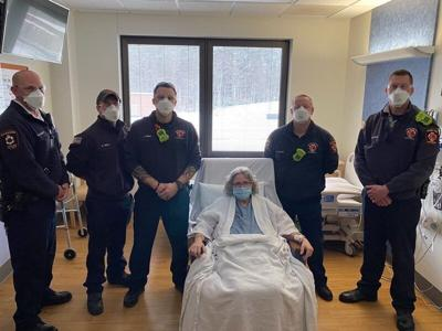 Emergency crews save life of Derry woman