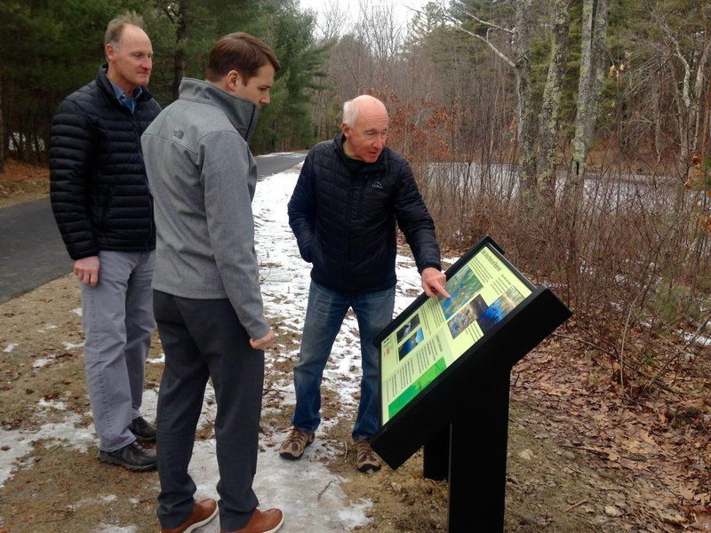 Pappastours latest Londonderry rail trail section