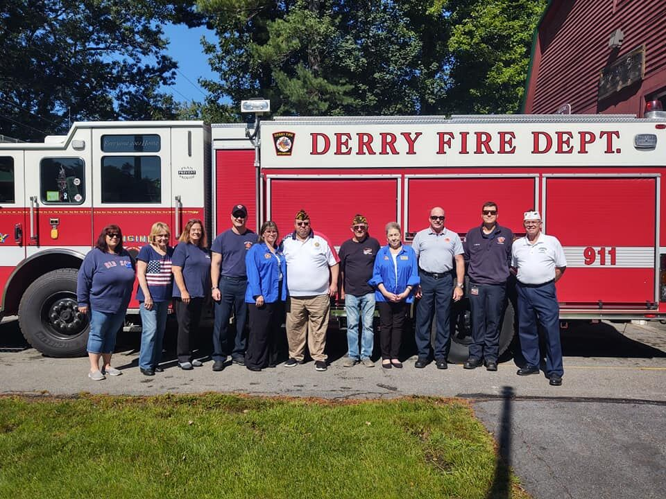 Derry VFW support police, fire departments