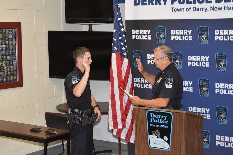 Two new Derry police officers sworn in