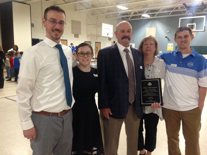School gym dedicated to longtime educator