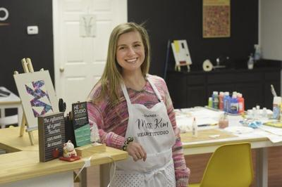 Windham woman leaves corporate world to follow her art