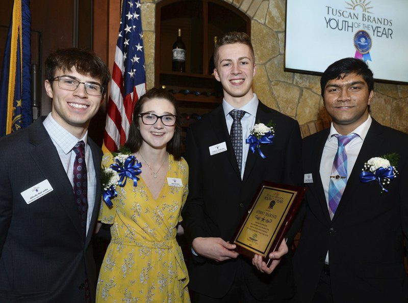 Londonderry's Traficante named Boys & Girls Club Youth of the Year