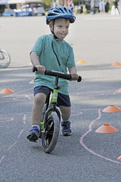Bike rodeo teaches safety