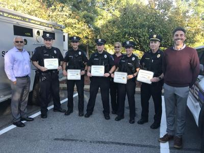 Derry police honored