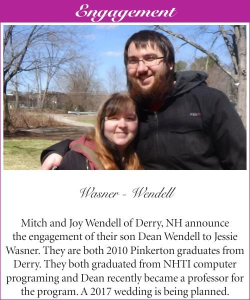 Wasner-Wendell Engagement