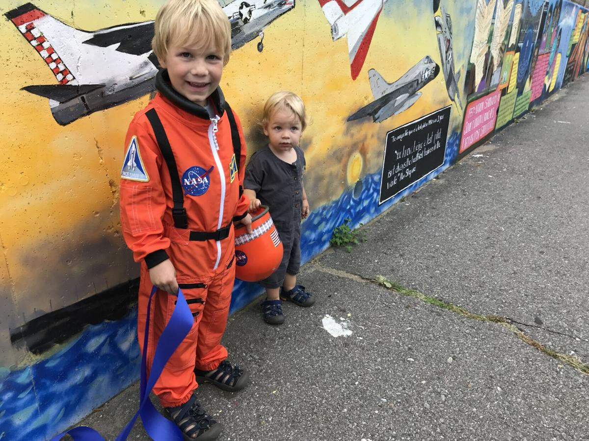 Derry mural flies high with history
