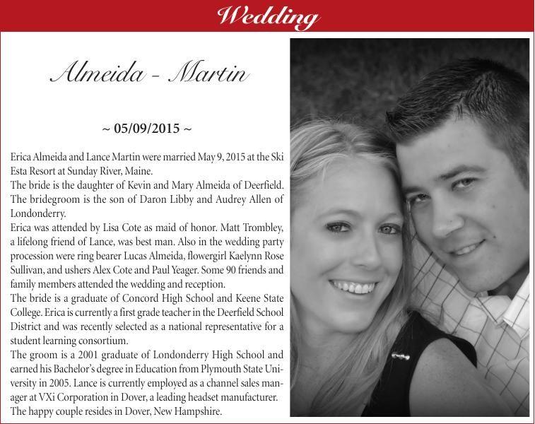Almeida - Martin wedding