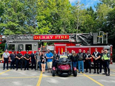 First responders support local veteran