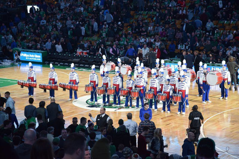 Drummers take to the court