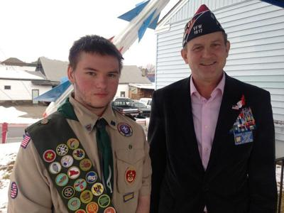 Derry scout soars with Eagle project