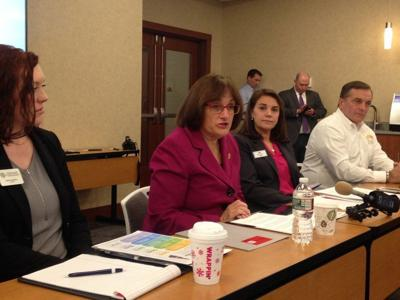 Kuster joins with business members for health tax talk