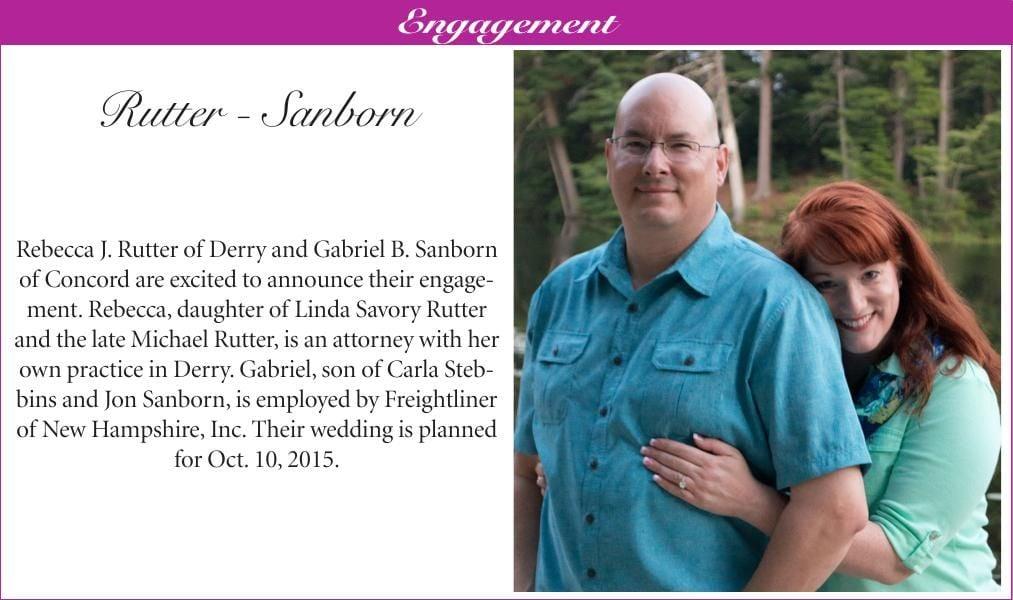 Rutter-Sanborn Engagement