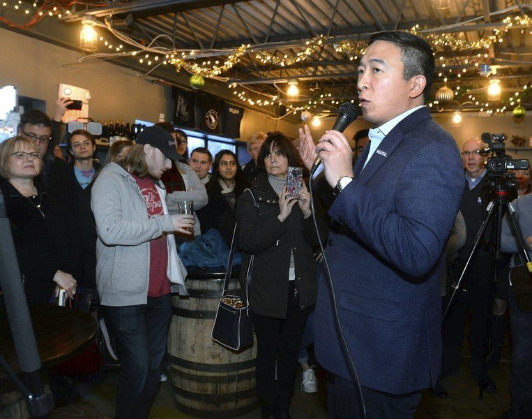 Derry brewery welcomes presidential hopeful
