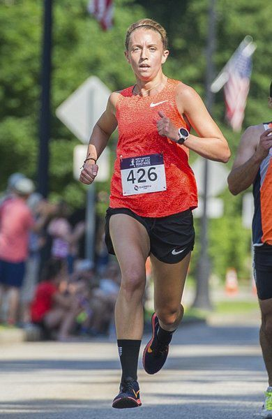 Derry's Pellegrini takes first female finisher at North Andover 4th of July race