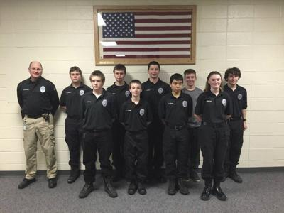 Londonderry Explorers learning the ropes