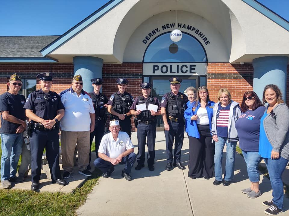 Derry VFW supports fire, police