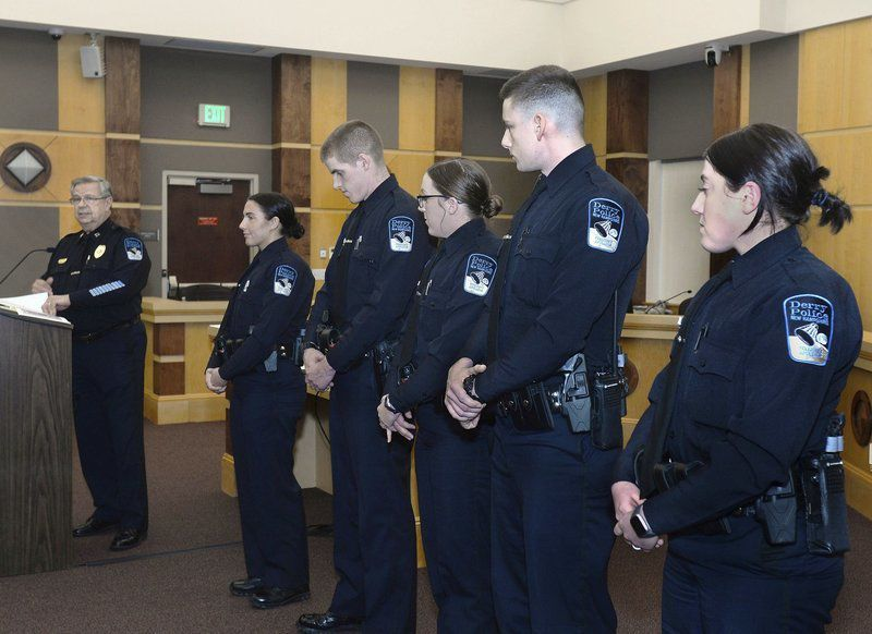 Derry police honor new hires, retirees, promotions