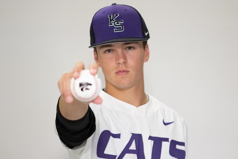 One cool 'Cat: Three-sport Astro Day earns big-time scholarship to Kansas St. baseball