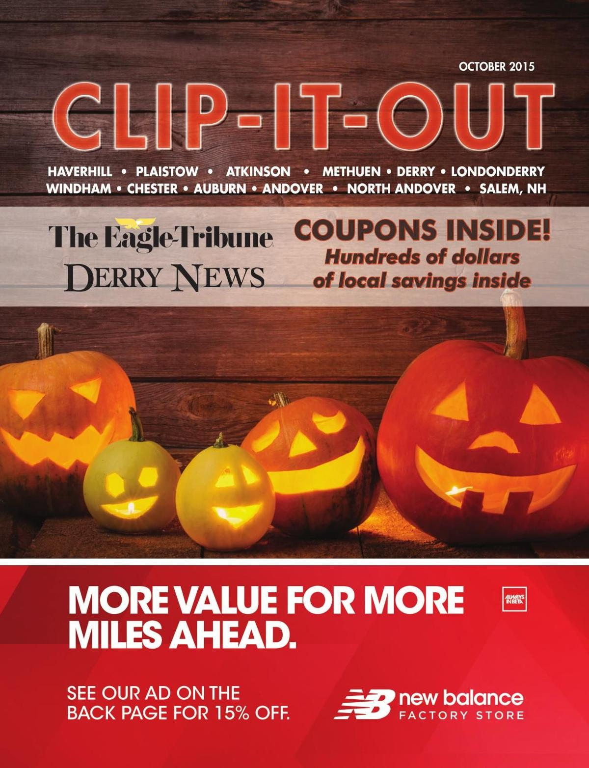 Clip-It-Out Coupon Book October 2015