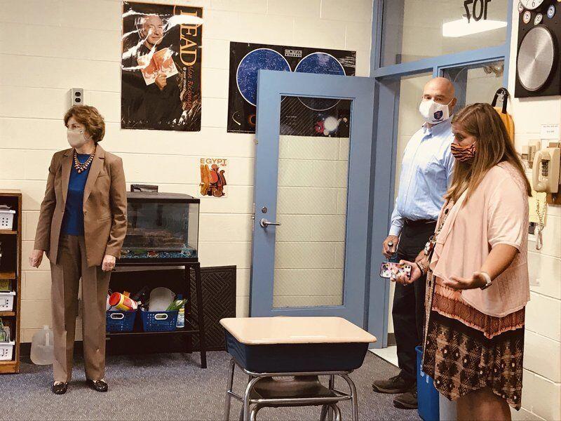 Shaheen, administrators talk school return