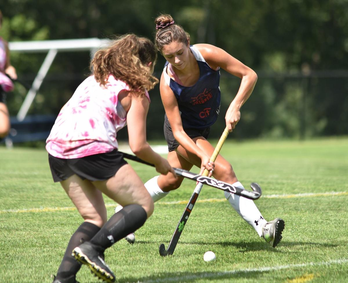 Windham versus Timberlane field hockey