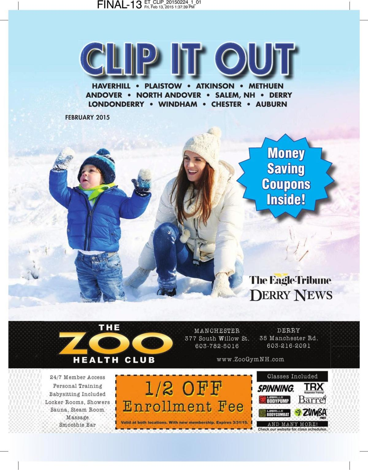 Clip It Out Coupon Book February 2015