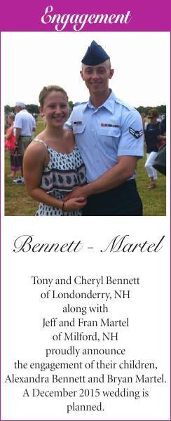 Bennett-Martel Engagement