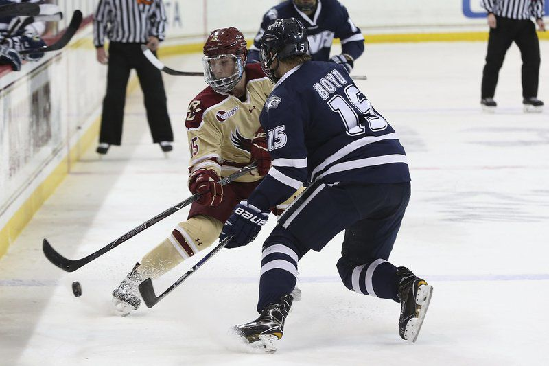 Dudek's next shot: After making pro hockey debut, ex-Pinkerton star battling for next job as free agent