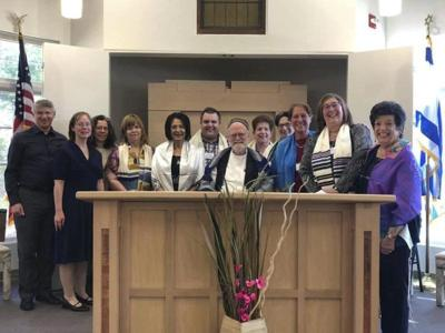 Synagogue celebrates adult B'nai Mitzvah