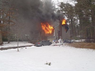 Saturday fire damages Londonderry home
