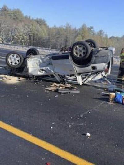 Mass. woman, 72, identified as driver in Londonderry rollover