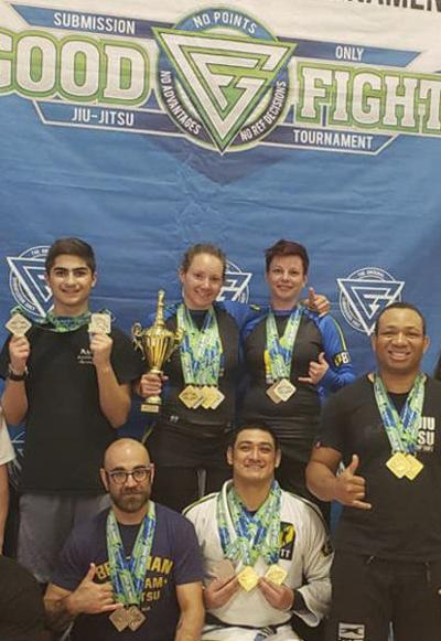 Londonderry's Woo Kickboxing takes second