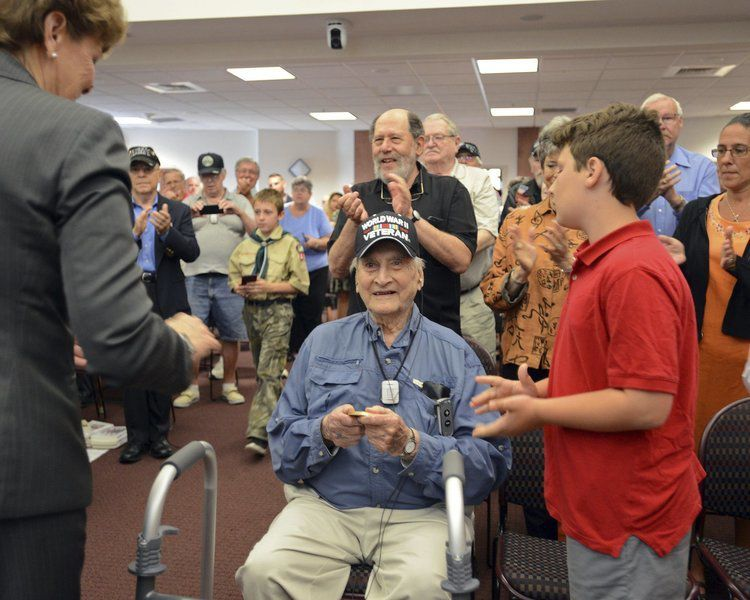 Derry veteran honored with Congressional Gold Medal