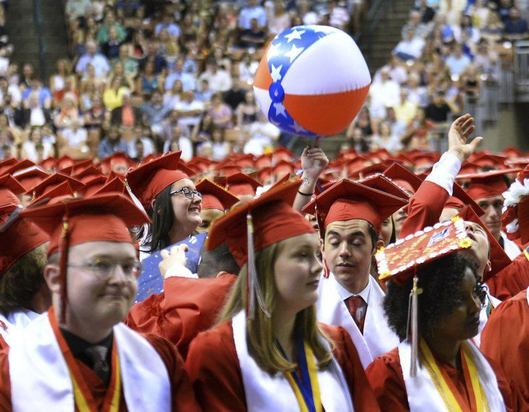 Moments from Pinkerton Academy graduation