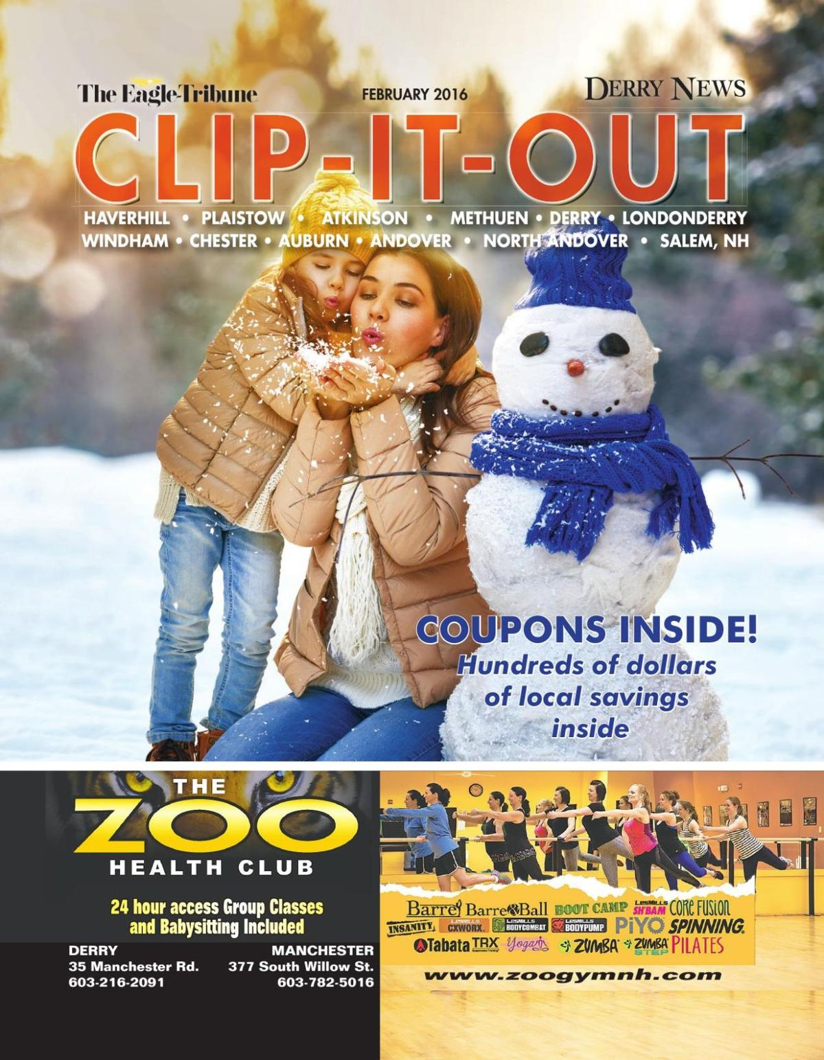 Clip-it-Out Coupon Book February 2016