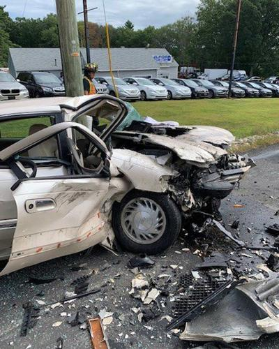 Drivers injured in Rockingham Road crash