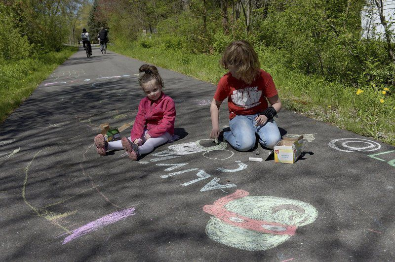 Happy trails for fun day in Londonderry