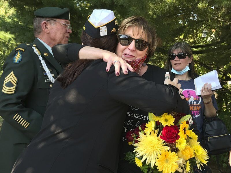 Mother of fallen Derry Marine honored